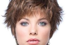 Short and Sassy / Short hairstyles / by Robbie Day