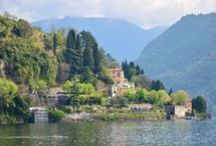 Travel The World - Lake Como, Italy / I was born in Como and lived in Cernobbio, on the lake.  It's still really home to me.