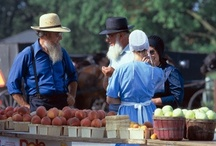 Plain people ~ Amish / I admire their simple way of life! / by Dan Goodine