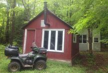 Cottages & Treehouses / As a boy I loved to spend time in a treehouse! Now I like to go to my cabin!! / by Dan Goodine