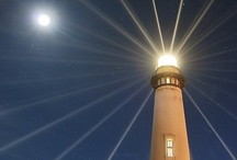 Lighthouses to Shine! / In the same way, let your light shine before others, that they may see your good deeds and glorify your Father in heaven. Matthew 5:16 / by Dan Goodine