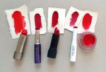 Green Beauty Red Lipsticks