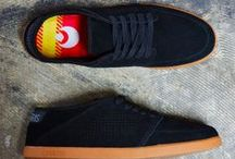 Spring 2013 Products / Spring 13 introduces not just new color ways like the black light collection, but new materialization such as the black wax uppers.  Check them out today at www.osirisshoes.com.