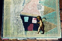 Junquemail: Art and Studio / Mixed Media: Art Journaling, Handmade Art Books, Artist Trading Cards, Mail Art - Paper and Fabric