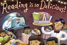 Summer Reading 2013 'Reading is So Delicious'  / Summer Reading Club of the Los Angeles Public Library http://kidspath.lapl.org/kidspath/events/allreadingclubs.php / by Francesca