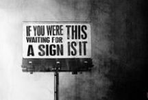If you were waiting for a sign......