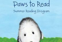 "Summer Reading 2014 ""PAWS to Read"" / Summer Reading Club of the Los Angeles Public Libary / by Francesca"