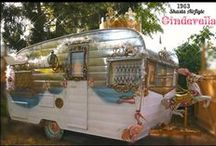 Cinderella's Coach / A 1963 Shasta Vintage Trailer made int a Glamper fit for a Queen!