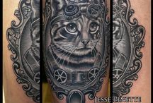 Cattoos / ...because the best tattoos are of cats!