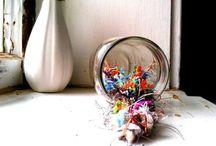 Handmade Beads: Tutorials, Inspiration, Supplies / Handmade Fiber and Paper Beads
