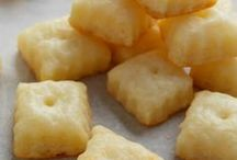 Crackers, Chips, & Dips / snack foods / by Jennifer Fowler