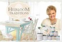 HEIRLOOM TRADITIONS PAINT / This is a board featuring some of the great pieces painted and finished with Heirloom Traditions Paints