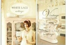 White Lace Cottage for Heirloom Traditions Paint / by Heirloom Traditions Paint