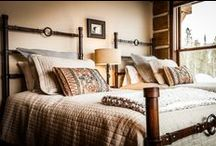 PROJECTS: Big Sky Cabin / Design with Lake Construction and Gallatin Valley Furniture Carpet One.