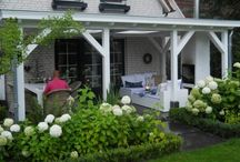 porch icethea & swingchairs