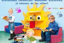 """Biblioteca escolar / """"Un niño que lee será un adulto será un adulto que piensa"""" Crear un ambiente adecuado y que los libros estén a su alcance es importante para despertar el hábito. Nuestro mobiliario para biblioteca escolar permitirá crear un espacio mágico para disfrutar de la magia de la lectura."""
