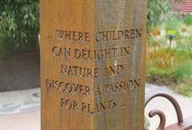 children in the garden - dzieci w ogrodzie