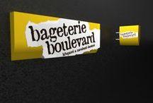 Bageteria Boulevard 3D návrh a realizacia / Bageteria Boulevard - navrh a dizajn svetelnej reklamy - realizované riešenia
