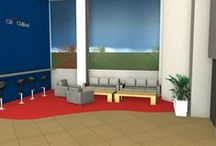 CitiBank - chill out zone - Ekonomická univerzita v Brne - sponzorský dar