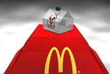 Mc Donald - nadácia - Domček - pokladnička / Návrh a realizácia pokladničiek pre nadáciu Mc Donald - návrh dizajnu a riešenie výroby