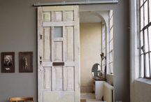 Sliding doors / Interior design