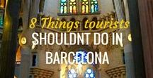 Barcelona Travel Tips / How to spend one week in Barcelona Spain? Your Barcelona Guide Barcelona itinerary, things to do in Barcelona, where to stay in Barcelona, food, tips and Nightlife in Barcelona.  Including maps, tips and tricks to move around Barcelona.