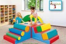 Psicomotricidad infantil de 3 a 6 años / Conjuntos para adquirir nuevas habilidades motrices con toda seguridad
