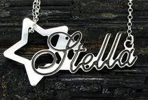 I nostri gioielli / Gioielli in argento 925 rodiato Creazione gioielli su disegno Incisioni su qualsiasi oggetto