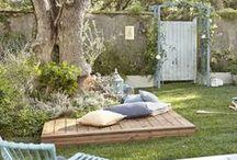 terrasse / décoration ,verrière, salon jardin...
