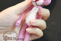 Amigurumi. / Амигуруми . Вязаные маленькие игрушки.