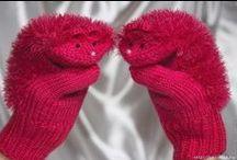 Варежки, митенки, перчатки / Mitten, mitts, gloves
