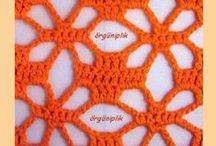 Узоры крючком, схемы / Crochet