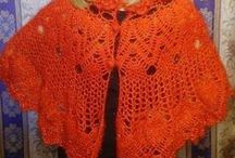 Шали, накидки, пелерины крючком / Shawl, Cape crochet