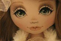 Куклы / Текстильные куклы, куклы из полимерной глины