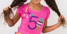 Ice Cream Outfits / These Ice Cream outfits are a super sweet treat for any birthday girl.