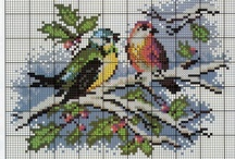 cross stitch animals / by Tanja Fonnesbæk