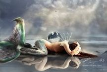 ✿⊱╮Mermaids ✿⊱╮ / by Angelique ♥