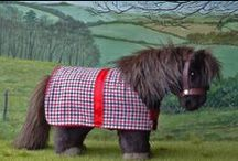 Pony rugs / Some of the patterns we have used for our Shetland pony rugs.