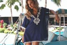Cover Ups / Cool fashion ideas on how to cover up while on the beach, resort, cruise or by the pool.