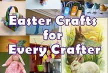 Holiday Projects-Easter / Ideas & Inspirations for DIY Easter Crafts for Your Home and Family,  Printables, Cards, Projects to try. / by Diane Pfile