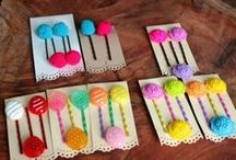 kira kira life Accessories - Rainbow Maui / Try not eat these adorable sweet hair pins :-) I'm most certain that they will bring your spirit up when you're feeling down.