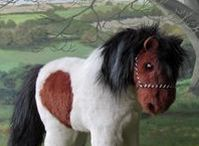 Shetland ponies / This board is dedicated to Shetland ponies, mostly the models I have made but also photos of some of the real Shetlands that have been my inspiration.