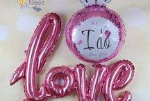 Pink Engagement Decorations / The stunning Pink Engagement Decorations that we have collected for you include Pink Engagement Ring Balloons, Love Letter Script Balloons, Love Heart Balloons and much more.  Pink is a beautiful colour to have as Engagement Decorations and can be put together with Gold, Purple, Silver and others.  The designs you will find here can be used at Weddings, Engagement Parties, Bridal Showers, Anniversary Parties and all Celebrations where there is plenty of Love :)