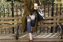 Styled / Style ideas for the woman who seeks a casual, cool, comfortable and  style-forward look.  Mostly a collection of street style and blogger created fashion looks, which are achievable for the everyday woman.