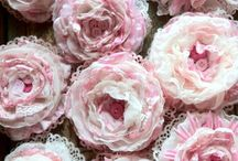 Fabric Flowers and Bows / by Meg Ammerman