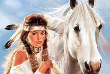 American Indian Art / #Native American Art #Art #Indian #Tribe #Paintings  ~~ As with most pins on Pinterest, I do not own the rights to the images/videos pinned on this board. I DO however try to provide the original source ~ preferably the rights owner ~ for all images/videos. Unfortunately this is not always possible as images have been sourced in places, where the rightful owner's details have been omitted. Should you wish to have any image/video removed or you would like a correction, please contact me.~~ / by Karen