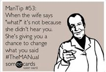 Vintage Humour - The MANual / ManTips