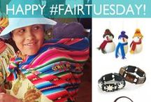 #FairTuesday 2013 Deals / See more on the Fair Tuesday Facebook page! Shop for a change on Fair Tuesday, December 3.