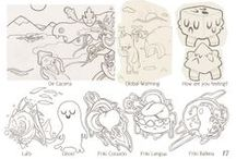 Character inspiration / Here I pin various character designs I think have interesting stuff or that I want to pick as reference for my own characters.
