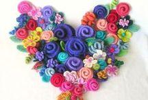 crafting valentines day / cupid crafting a way through February 14th  / by kim gesumaria